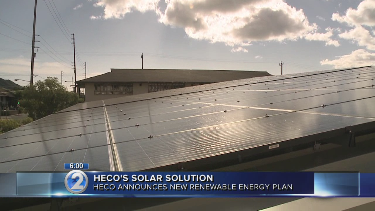 Hawaiian Electric proposes plan to increase sustainable rooftop solar
