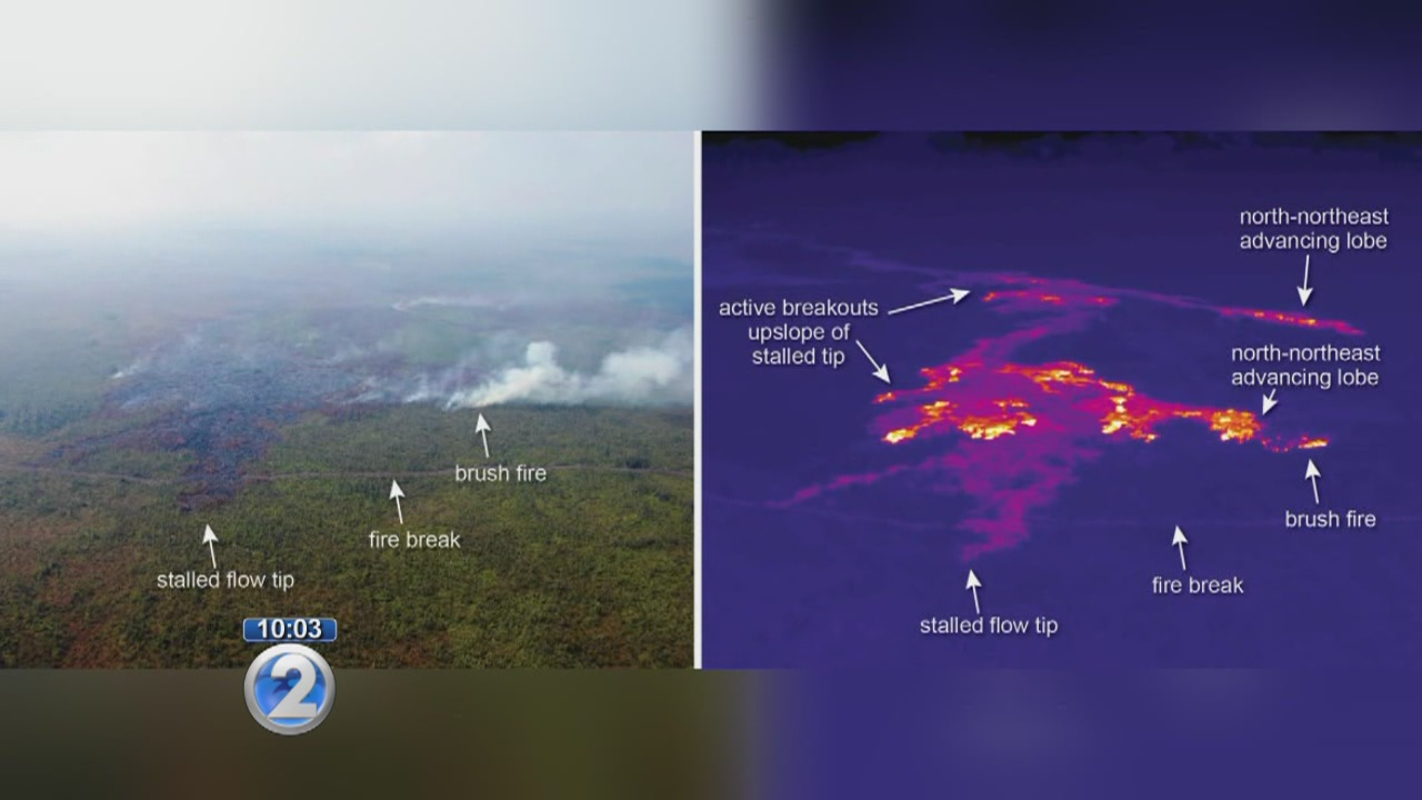 Two new fires ignite near lava flow