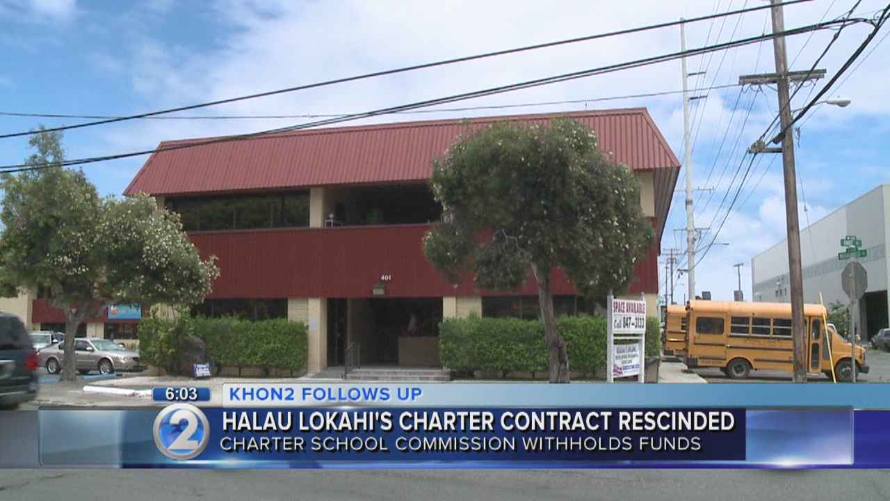 Charter school commission takes first step to close Halau Lokahi