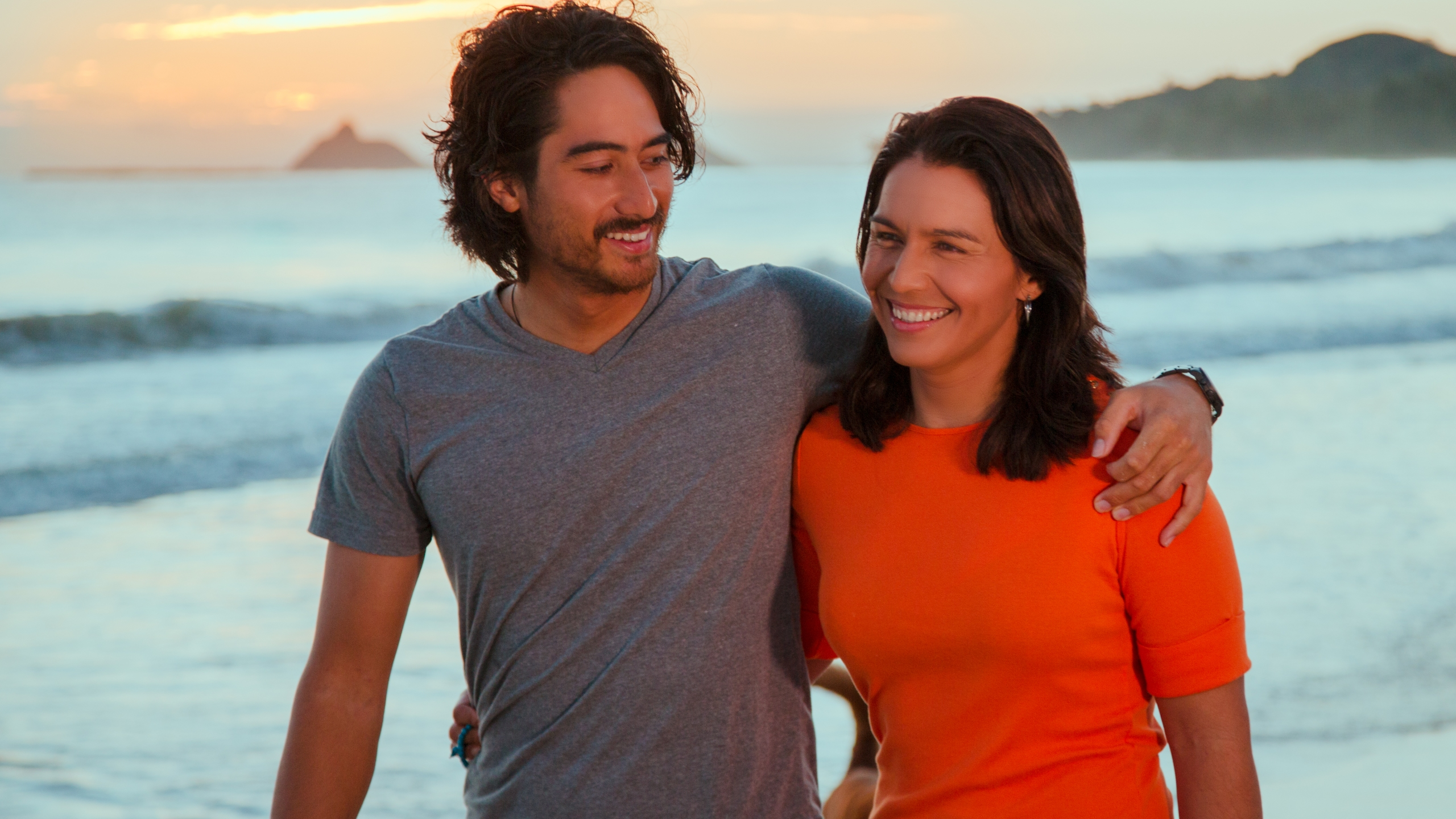Tulsi Gabbard and Abraham Williams_79149