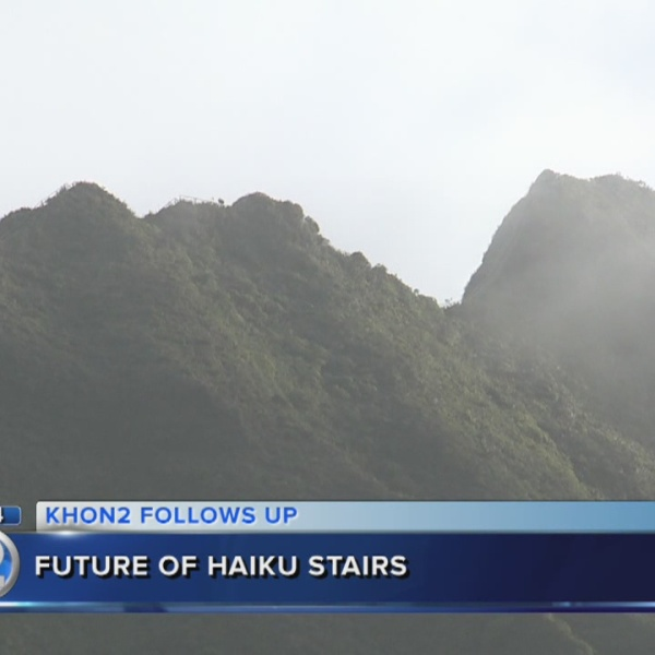 BWS takes first step to demolish Haiku Stairs