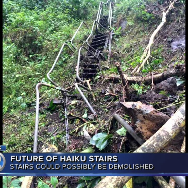 Group willing to care for Haiku Stairs with government backing