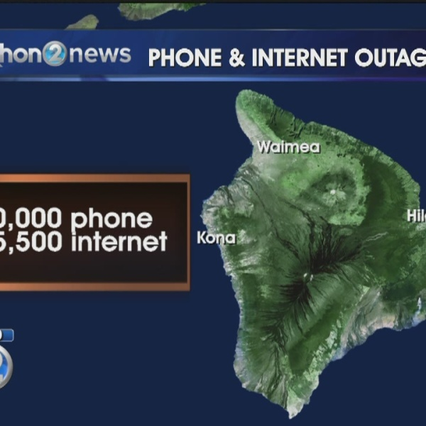 Phone, Internet outage affects 20,000+ in Kona, including 911