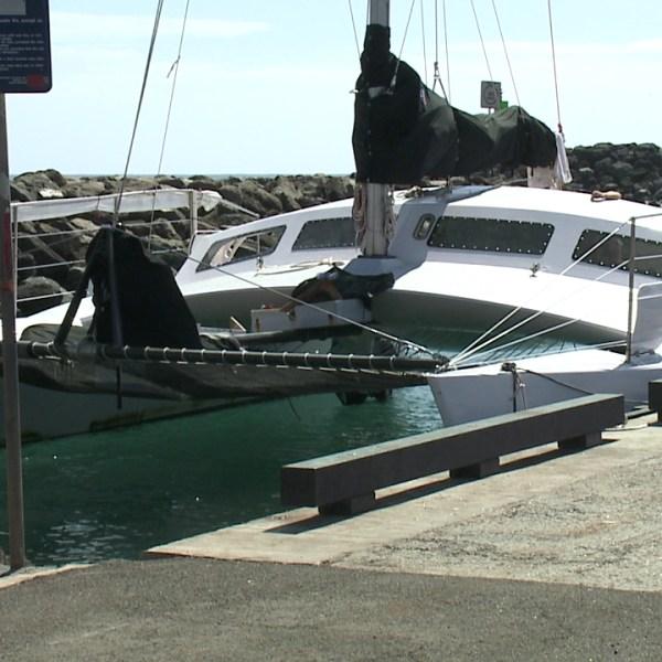 catamaran waianae boat harbor_79145