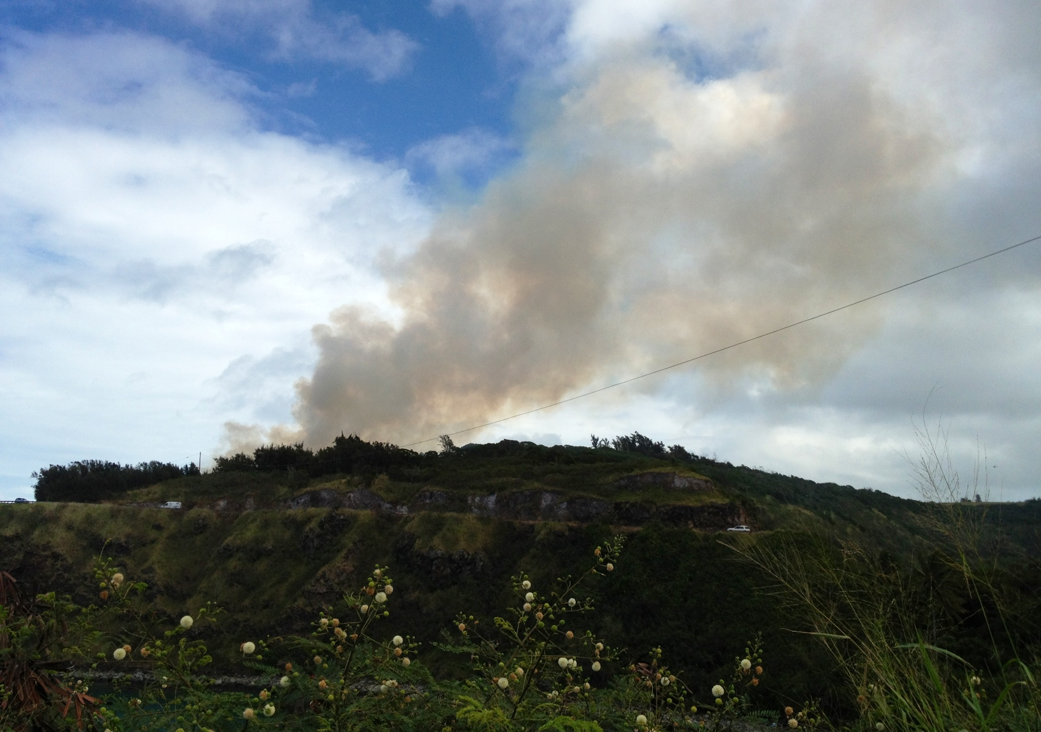 honolua brush fire_79856