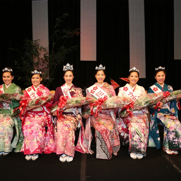 63rd Cherry Blossom Festival Queen and Court by Chris Kwock_84855