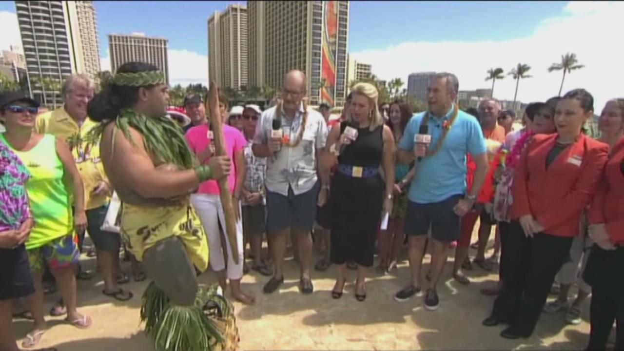 Popular Australian morning show airs from Hawaii