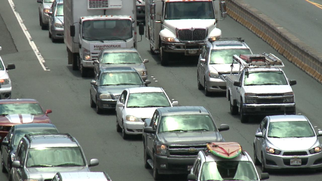 bad honolulu h-1 freeway traffic_86511