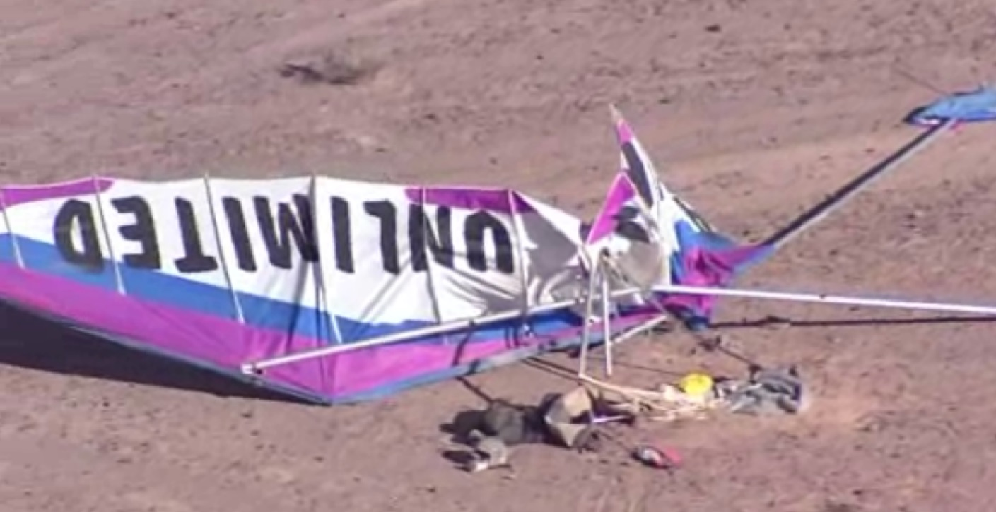 Two killed in Nevada hang glider crash, including instructor