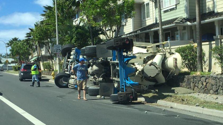 hawaii kai cement truck jeffrey chun_82851