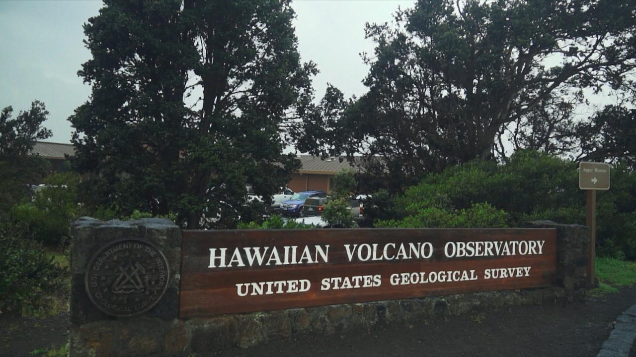Kilauea Facing the Fire lava special Hawaiian Volcano Observatory