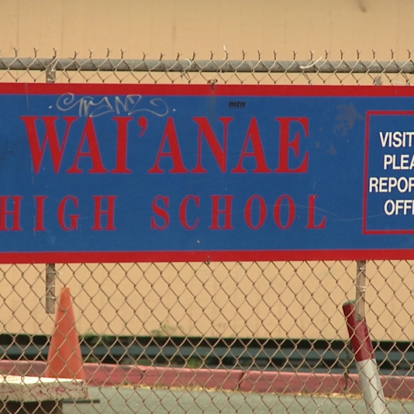 waianae high school sign_81756