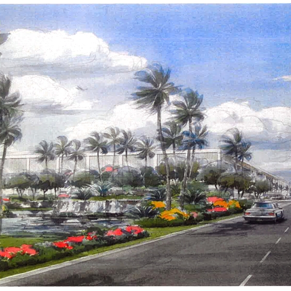 4-24 Kahului Airport water feature_90961