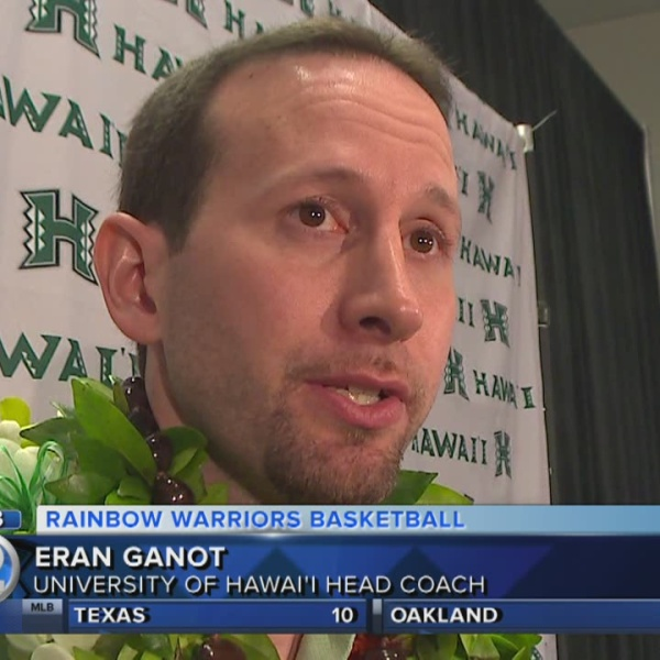 University of Hawaii men's basketball coach Eran Ganot Eran Ganot introduced as University of Hawaii men's basketball head coach