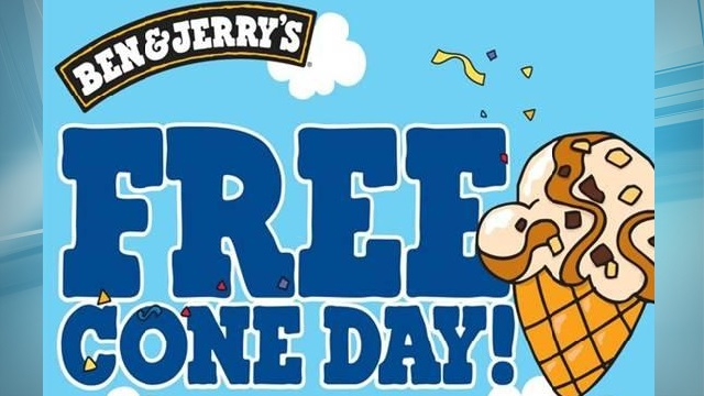 ben & jerry's free cone day_88865