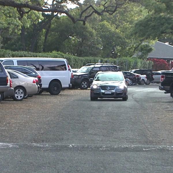 honolulu zoo parking lot_91778
