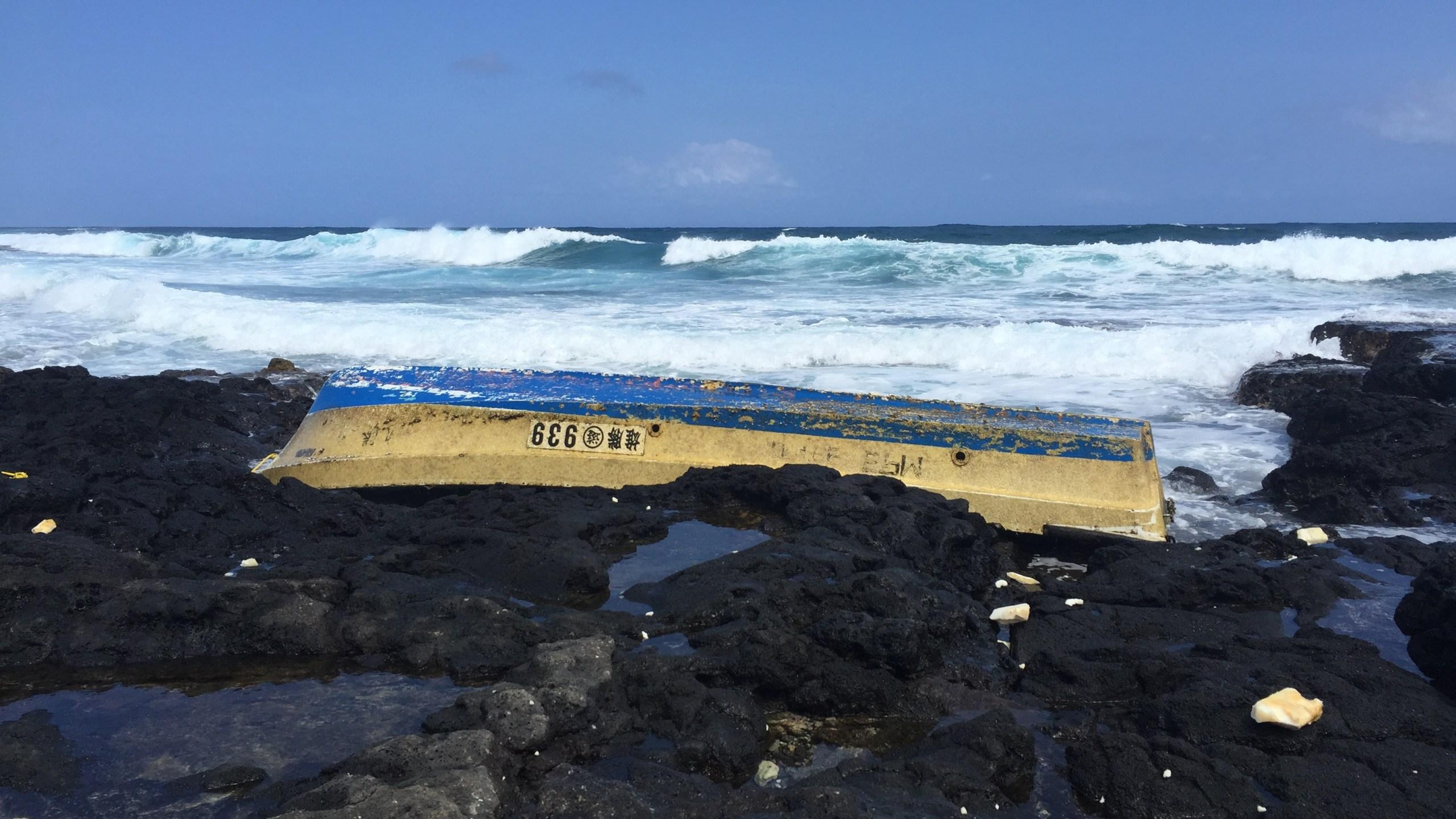 japanese tsunami debris boat_90444