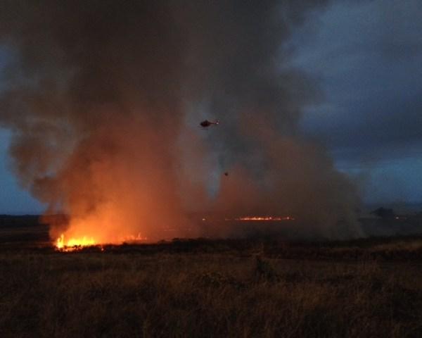 Kauai brush fire Air 1_Koloa_86685