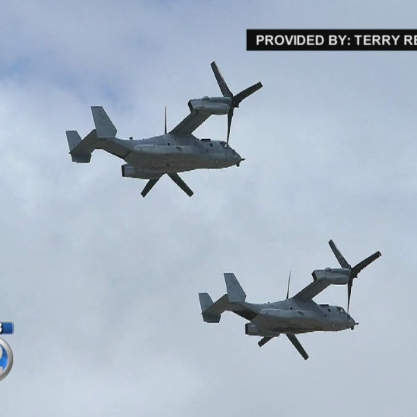 Questions raised surrounding Osprey aircraft following deadly crash and troubling history