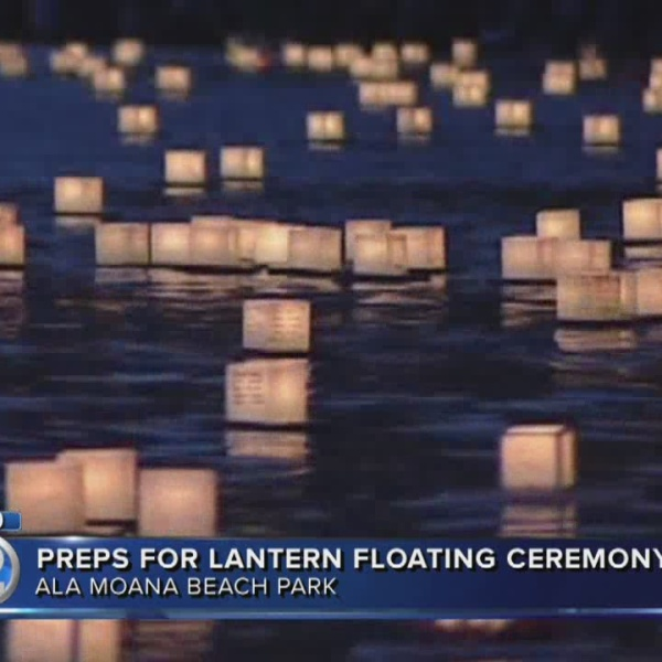 Preparations underway for Lantern Floating ceremony