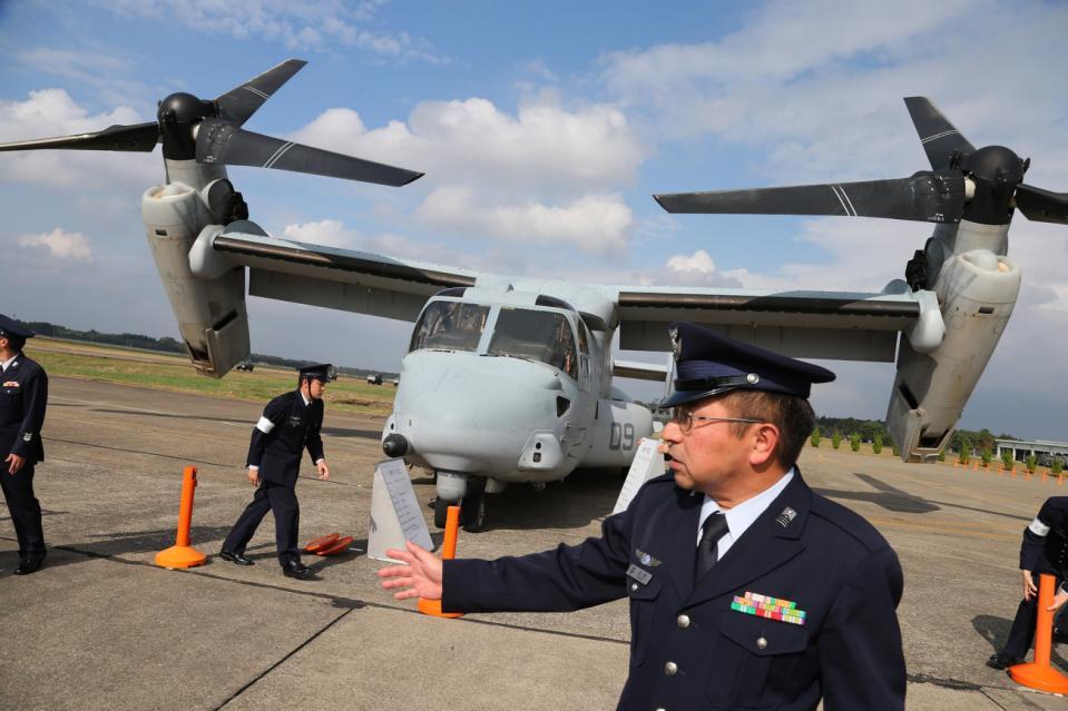 Japan US Military Osprey_95379