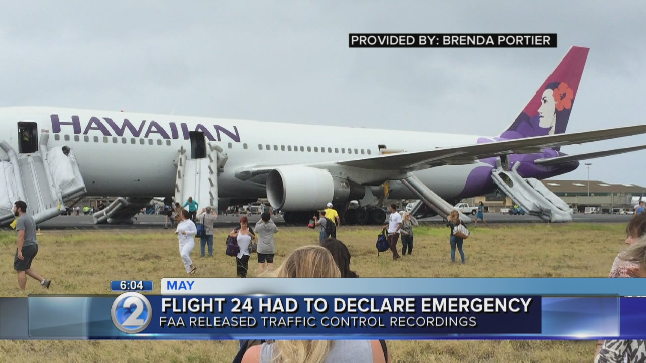 FAA releases recordings from Hawaiian Airlines emergency landing