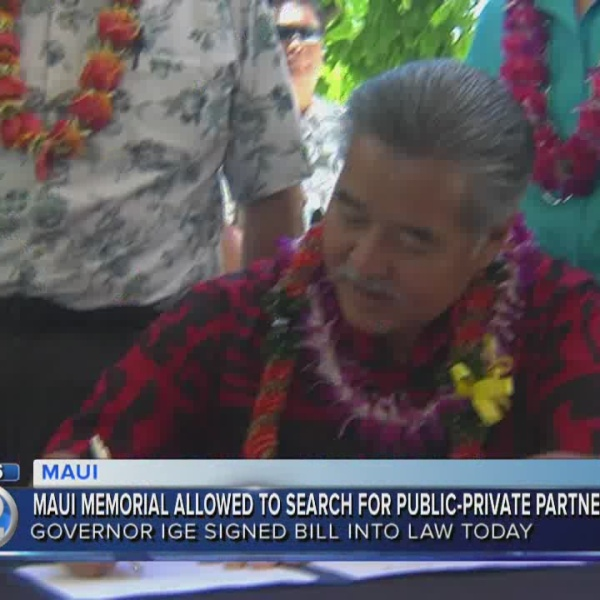 Governor signs Maui healthcare reform bill into law