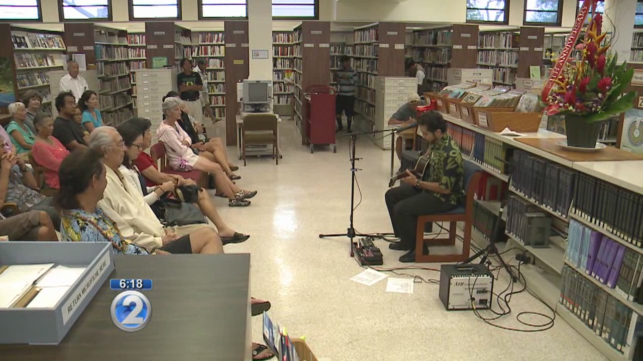 Kaimuki Public Library celebrates 50th anniversary with music