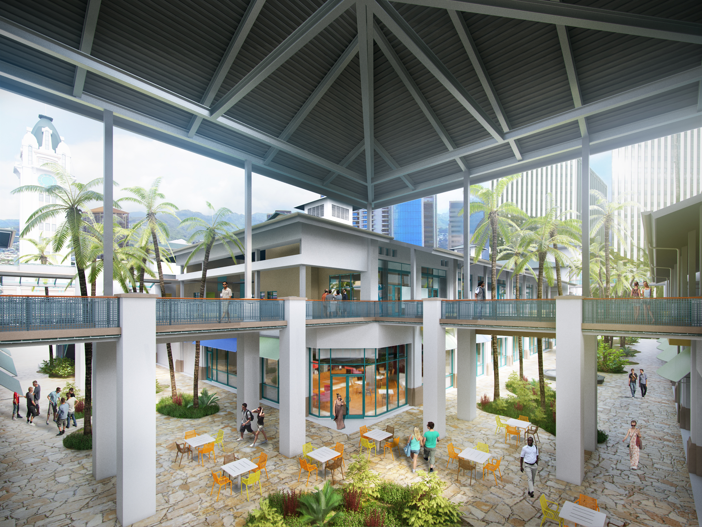 hpu aloha tower rendering