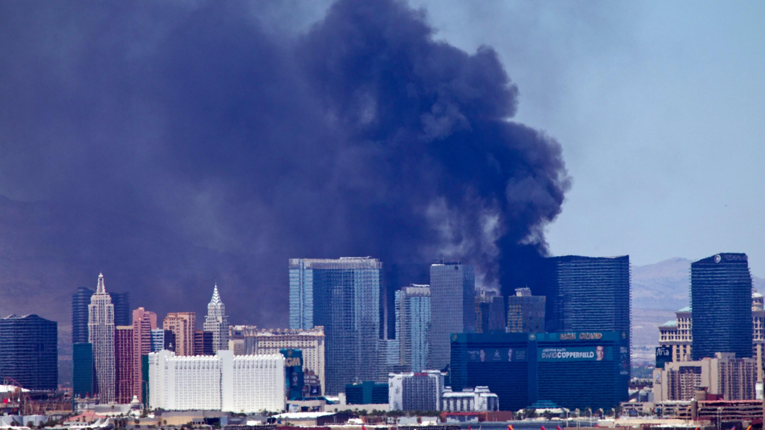 Las Vegas Strip Fire_107159
