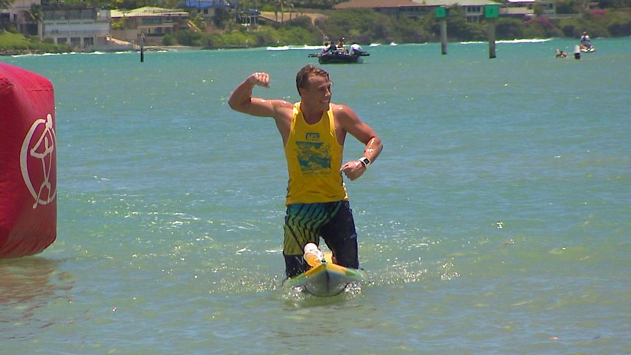 Matt Bevilacqua wins 2015 Molokai 2 Oahu Paddleboard World Championship_107295