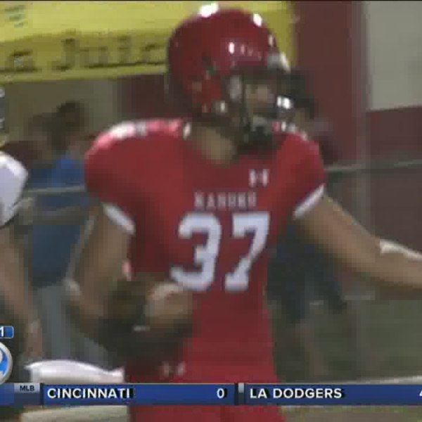 #Cover2 Hawai'i high school football scores 8/28