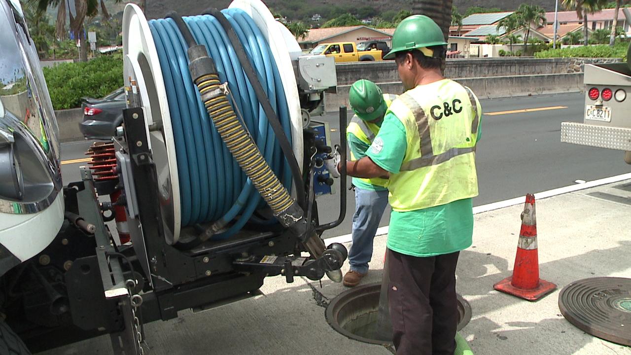 kahala sewer pipe break_109424