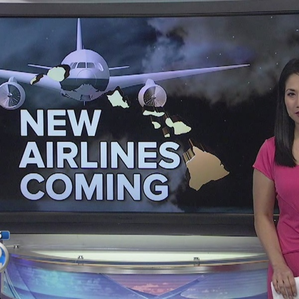3 new airlines to fly to Hawaii by year's end