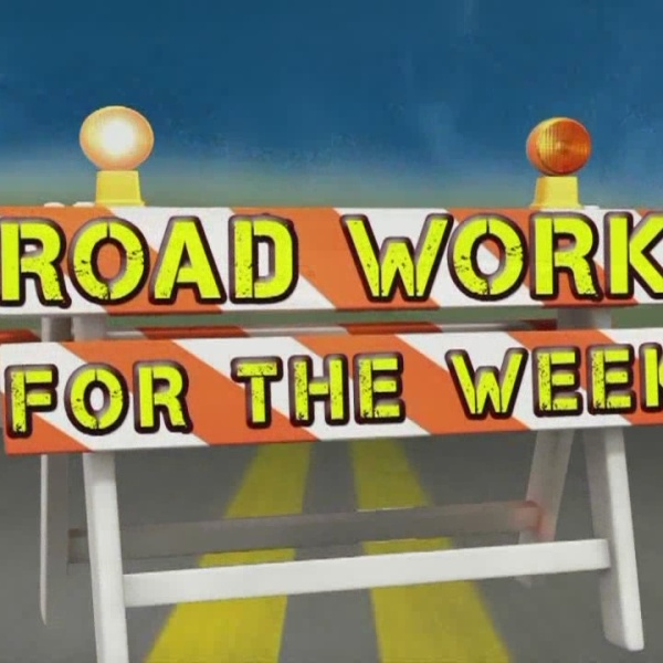 Road Work for the Week, Sept. 13-19