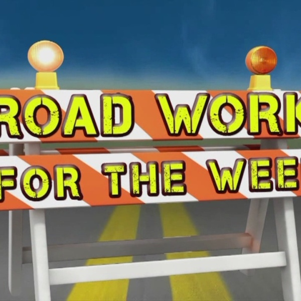 Road Work for the Week, Oct. 11-17