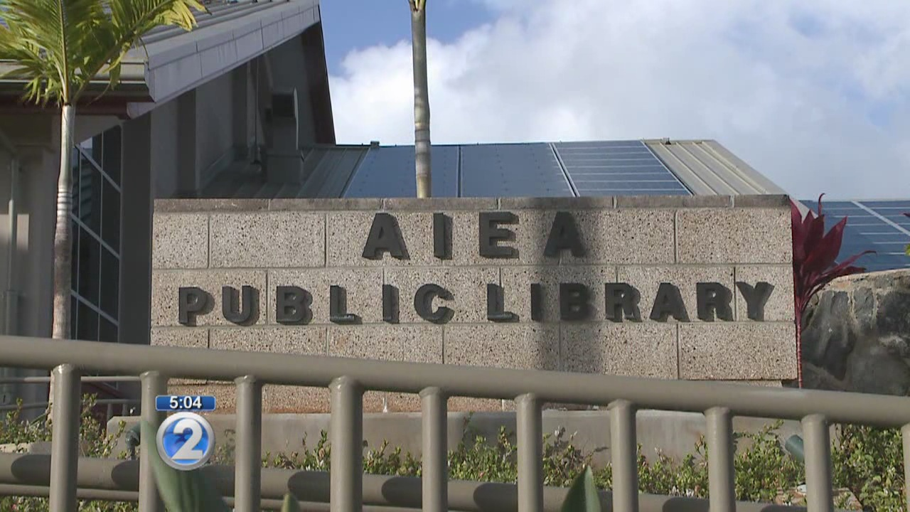 Activation of Aiea Public Library's PV panels could take months