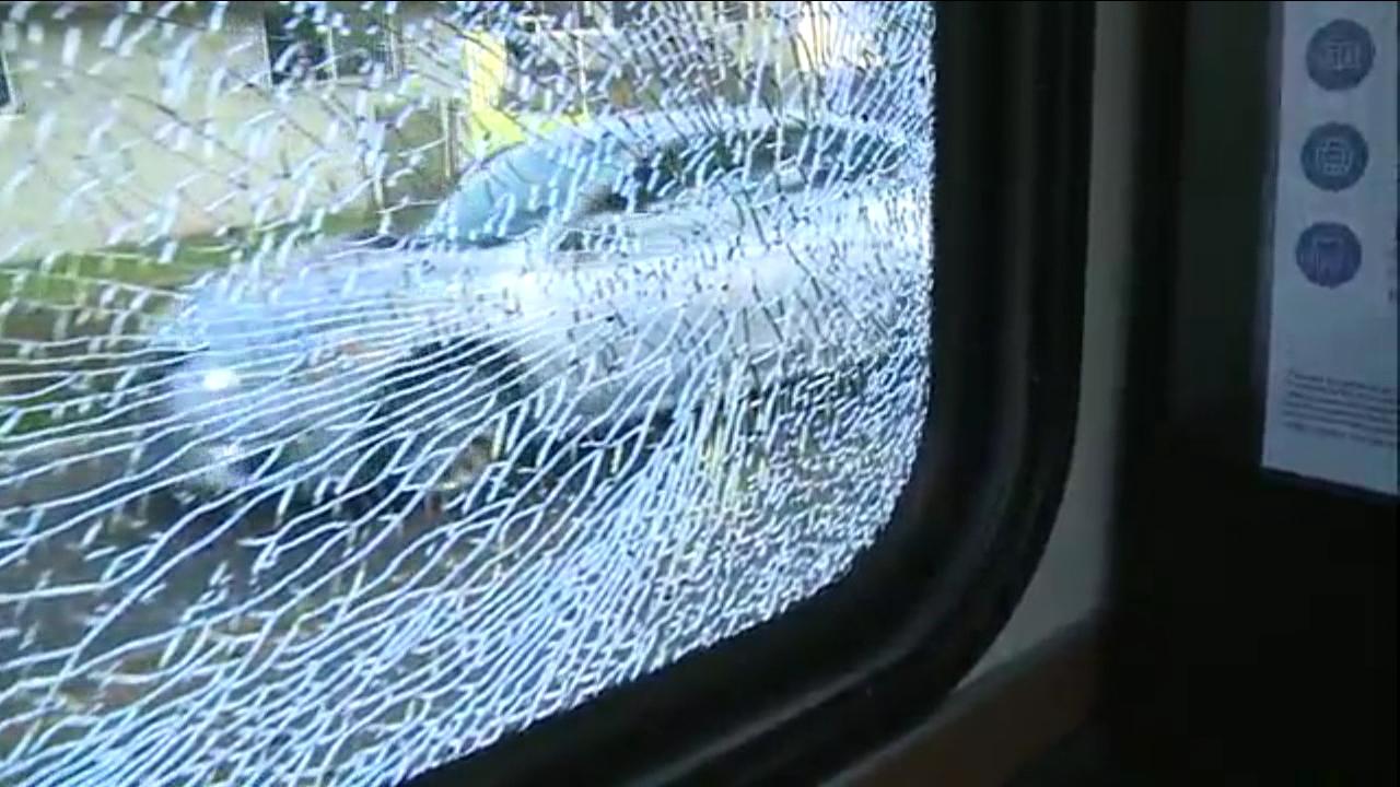city bus window cracked bb gun 2_126399