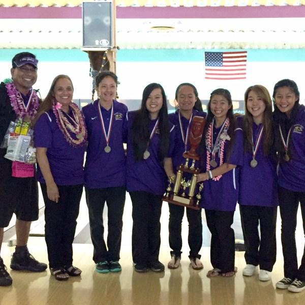 PCHS girls bowling team_126462