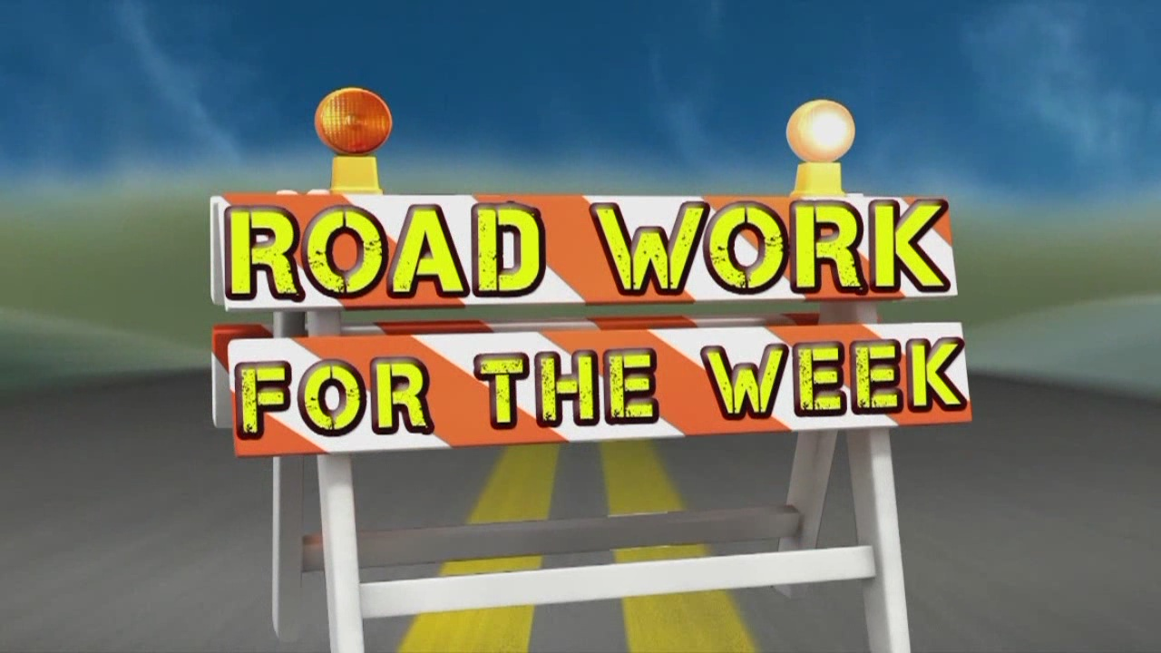 Road Work for the Week, Nov. 21-24