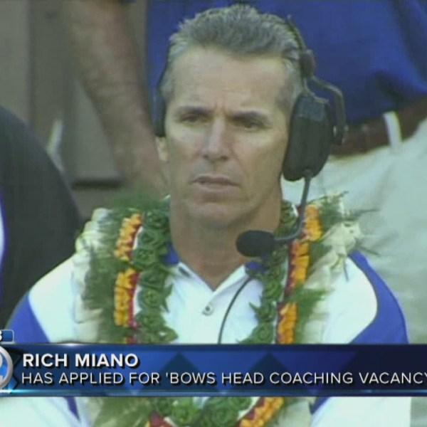 Former UH coach Rich Miano applies for head coaching job