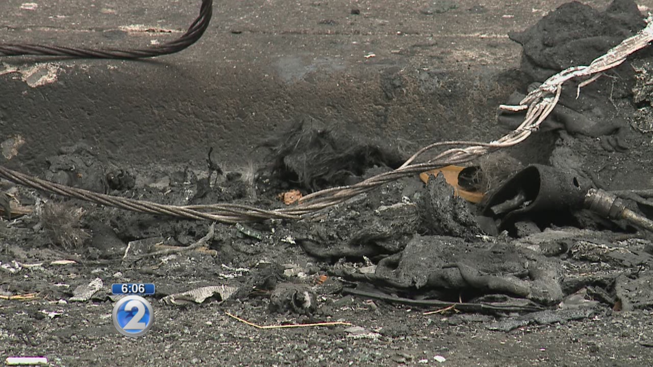 HECO investigates downed power line that sparked two-alarm fire