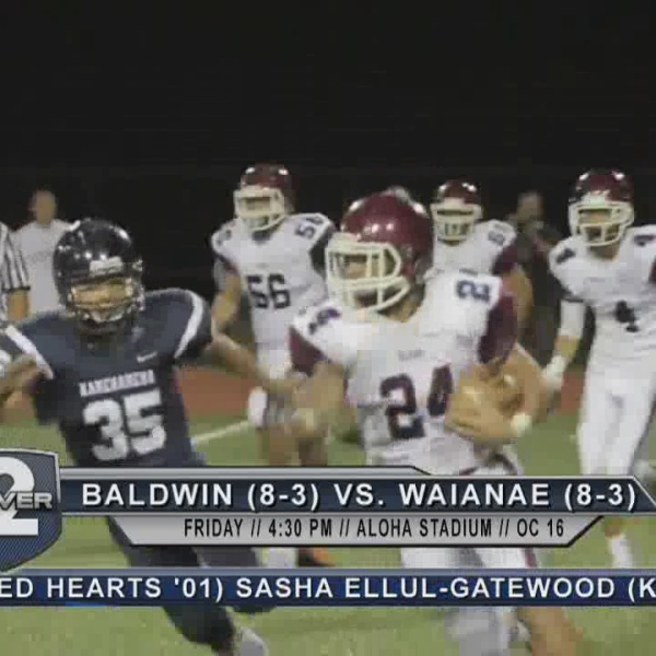 Game Preview: (8) Baldwin vs. (7) Waianae