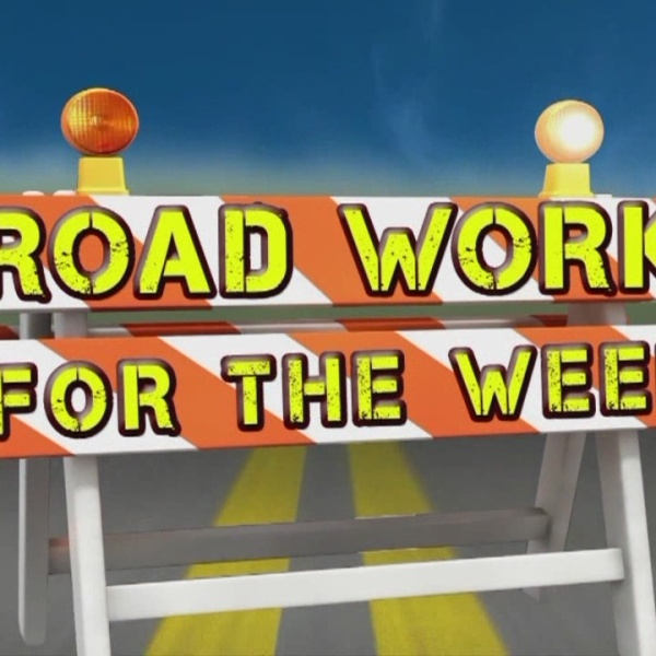 Road Work for the Week, Dec. 6-12