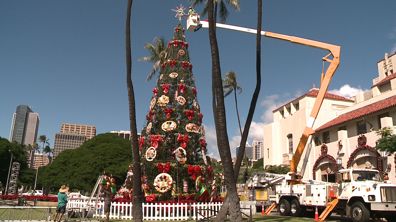 Honolulu Hale Christmas 2021 City Christmas Celebration To Be Smaller But Will Still Go On Says Mayor Caldwell Khon2