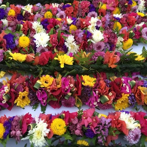 Honolulu Marathon Lei Flowers_133610