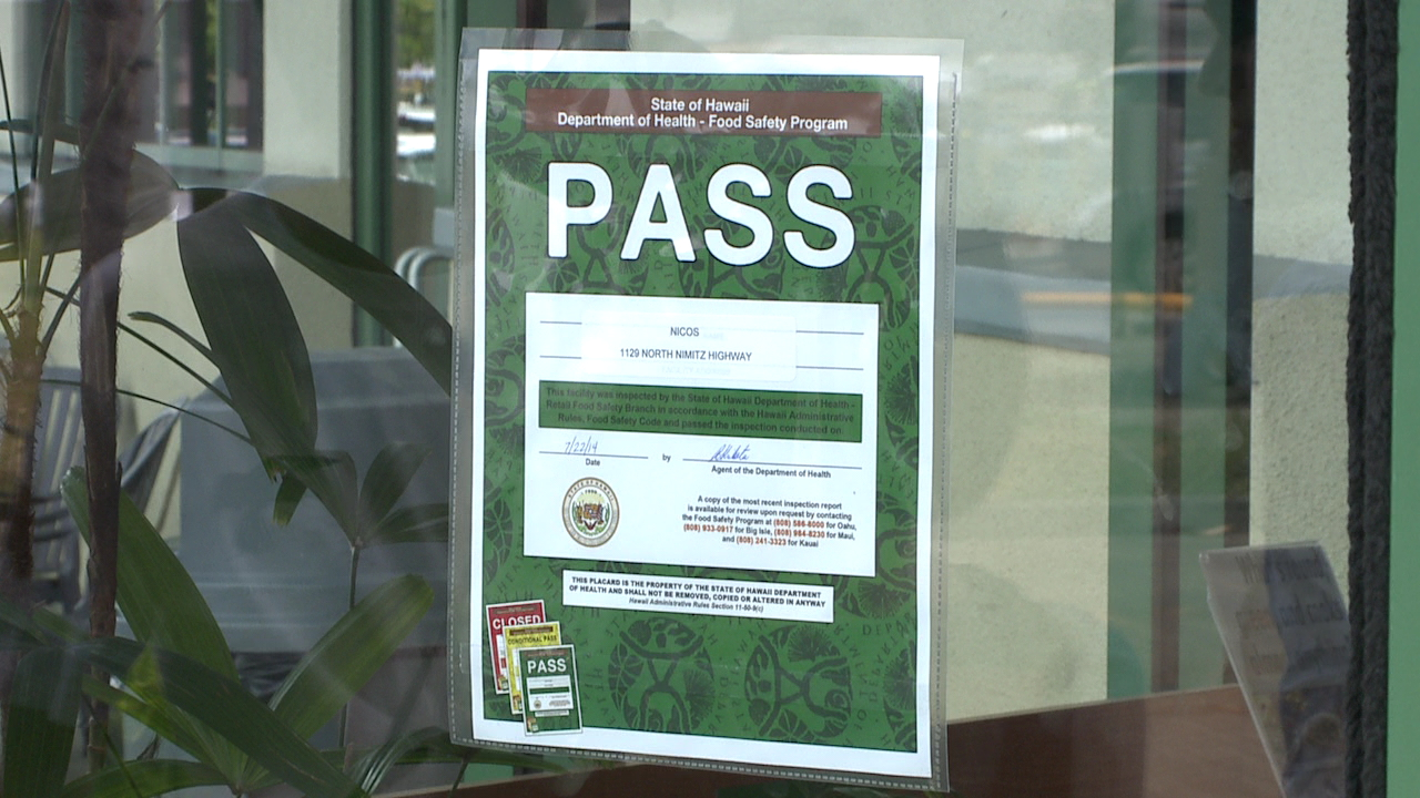 restaurant green pass placard rating_81377