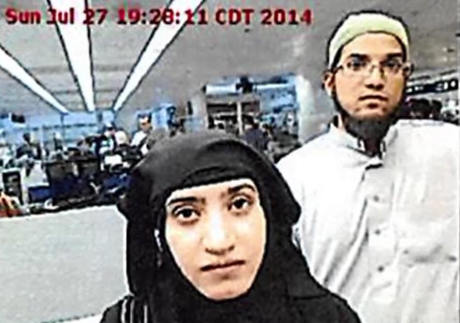 san bernardino shooter couple airport security_132664