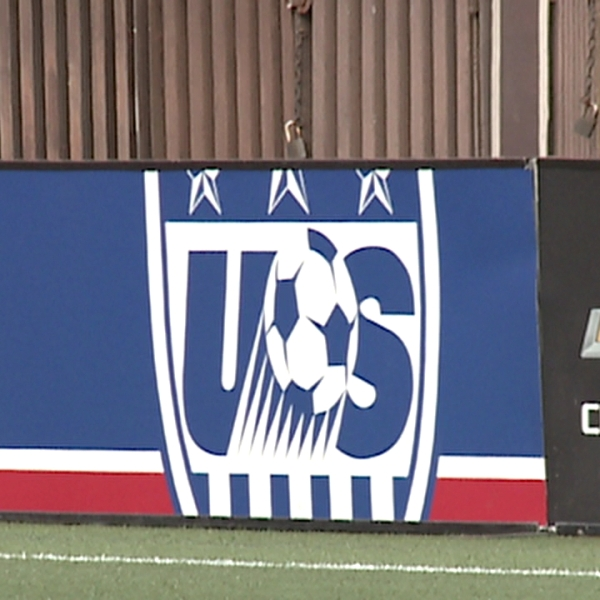 u.s. soccer stadium sign_132751