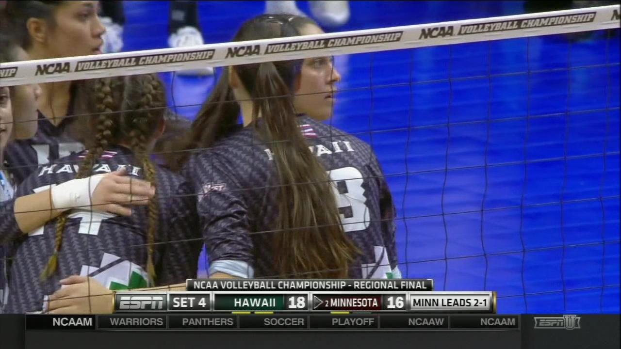 Wahine Volleyball vs Minnesota (2)_133573
